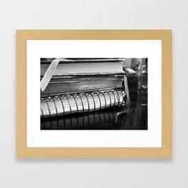 History Books (journals) Framed Art Print