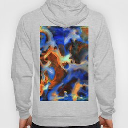 Synapse Abstract Painting Hoody