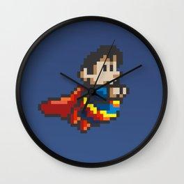 Super Pixel Wall Clock