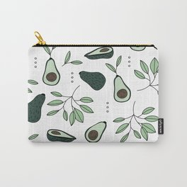 Avocado harvest veggie lovers garden mint green spring summer Carry-All Pouch