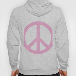 Peace (Pink & White) Hoody