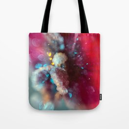 Crystal Orchid Sparkles Tote Bag