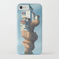 uncharted iPhone & iPod Cases featuring Auger City by cgoz