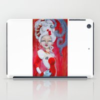 marie antoinette iPad Cases featuring Marie-Antoinette by CokecinL