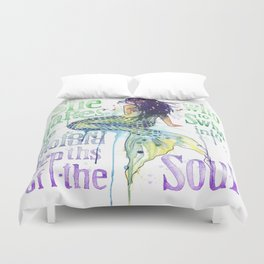 Mermaid : Profound Depths Duvet Cover