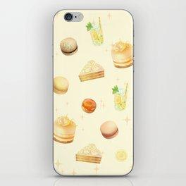 Yellow Desserts iPhone Skin