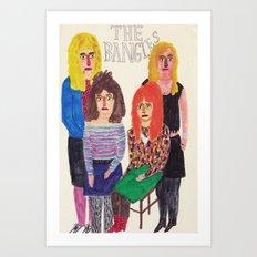 The Bangles Art Print