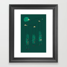 The Belvederes Framed Art Print