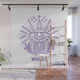 Warlock Emblem Wall Mural
