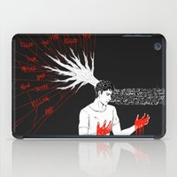 teen wolf iPad Cases featuring TEEN WOLF - Wake Up by kamikaze43v3r