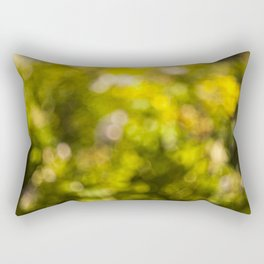 Beautiful bokeh Rectangular Pillow
