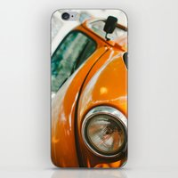 volkswagon iPhone & iPod Skins featuring Buggin' out by dnlamria