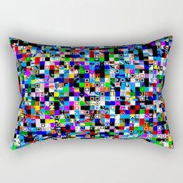 Pattern Test I-A Rectangular Pillow