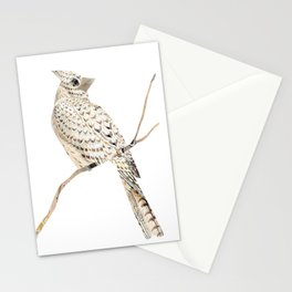 Winter Cardinal, collage Stationery Cards