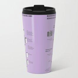 Bookbinding – About Sewing and Adhesive binding (in English) Travel Mug