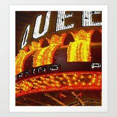 Vegas Queen - By CD Kirven Art Print