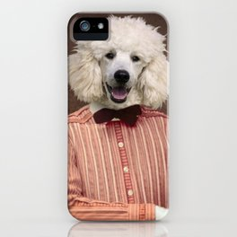 Mademoiselle Charlotte iPhone Case