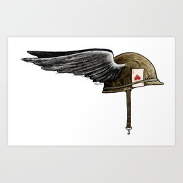 Winged M1 Art Print