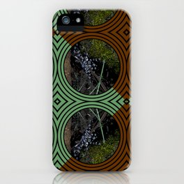 Nature Portals Pattern iPhone Case