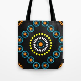 African Diamond (Turquoise) Tote Bag