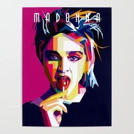 Madonna Queen of Pop Poster