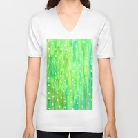 sprinkles V-neck T-shirts featuring Sprinkles by Rosie Brown