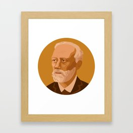 Queer Portrait - Pyotr Ilyich Tchaikovsky Framed Art Print
