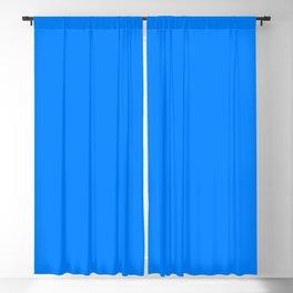 NOW AZURE BLUE SOLID COLOR Blackout Curtain