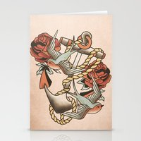 anchor Stationery Cards featuring Anchor by Chase Kunz