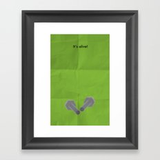 It's Alive! Framed Art Print