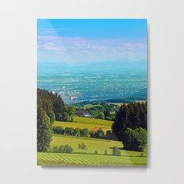 Urban and rural all together Metal Print