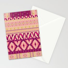 Geo Patched Stationery Cards