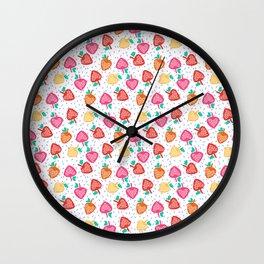 Strawberry fields Wall Clock