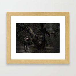 Moonlight Tango Framed Art Print