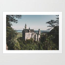 Neuschwanstein fairytale Castle - Landscape Photography Art Print