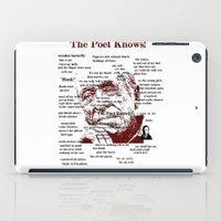 bukowski iPad Cases featuring Charles Bukowski by brett66
