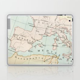 Vintage Map Of The Roman Empire Laptop & iPad Skin
