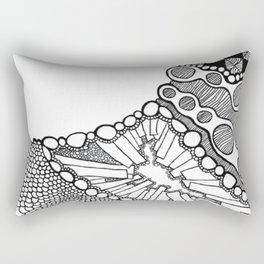 Curve (abstract) Rectangular Pillow