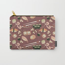 I love sushi and I cannot lie pattern Carry-All Pouch