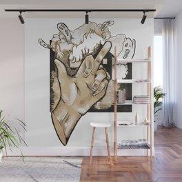 Saying Goodbye (Color) Wall Mural