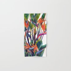 The bird of paradise Hand & Bath Towel