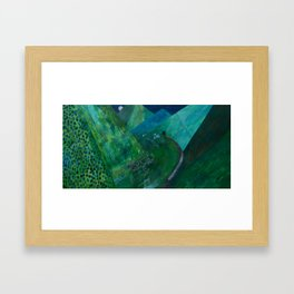 Nisja: the night train 5 Framed Art Print
