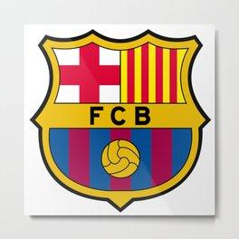 FCB futbol club barcelona Metal Print