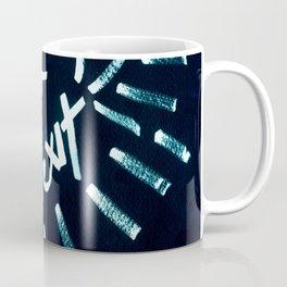 Fuck Brexit Dark Blue & Charcoal Coffee Mug