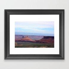 Castle in the Desert Framed Art Print