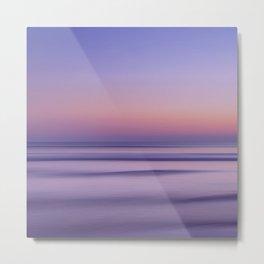california sunset seascape Metal Print