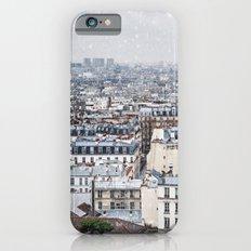 Snowy Paris Slim Case iPhone 6s