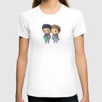 stiles T-shirts featuring Caroling Derek&Stiles by MGNemesi