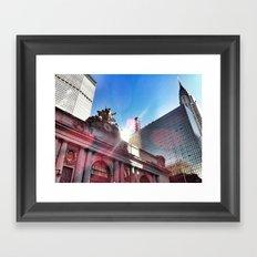 Sparkle City Framed Art Print