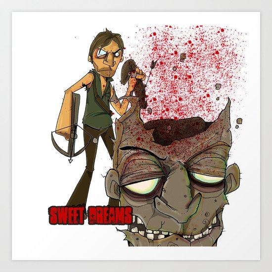 Oh Daryl.. Sweet Sweet Daryl Art Print
